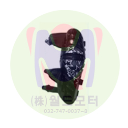 무릎보호대 2 (BLACK, Knee Protector)