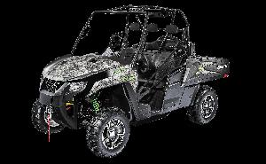 다목적 운반차량 프로웰라 HDX 700 SE, EPS (3인승)